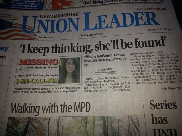 Abigail Hernandez New Hampshire Union Leader