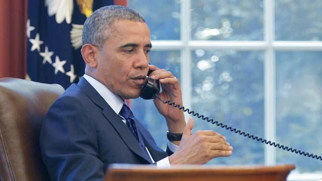 Obama Phonecall