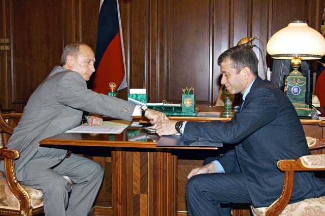 Vladimir Putin Roman Abramovich