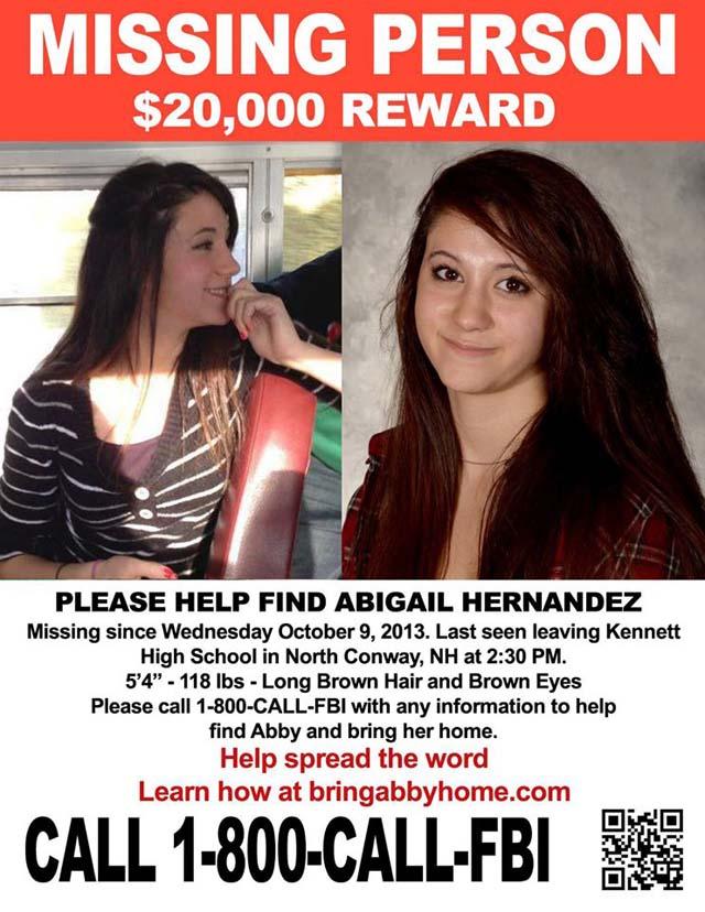 Abigail Hernandez MIssing