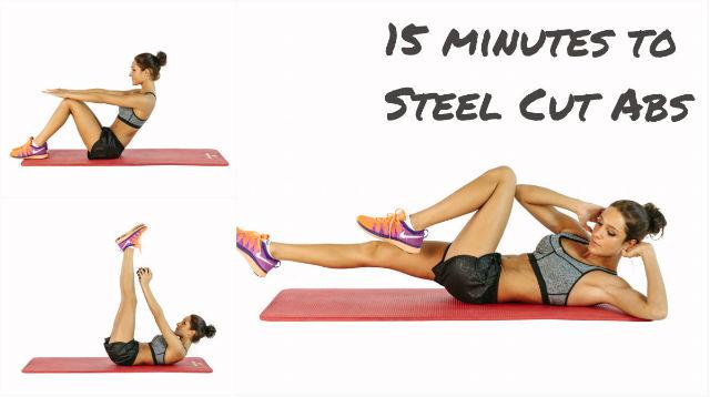 abs workout 15 min