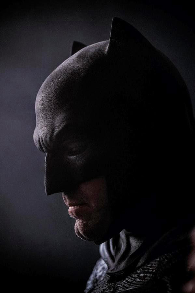The 1st look at Ben Affleck as Batman.