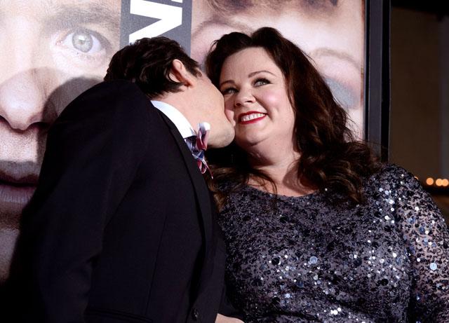Melissa McCarthy Ben Falcone Kiss