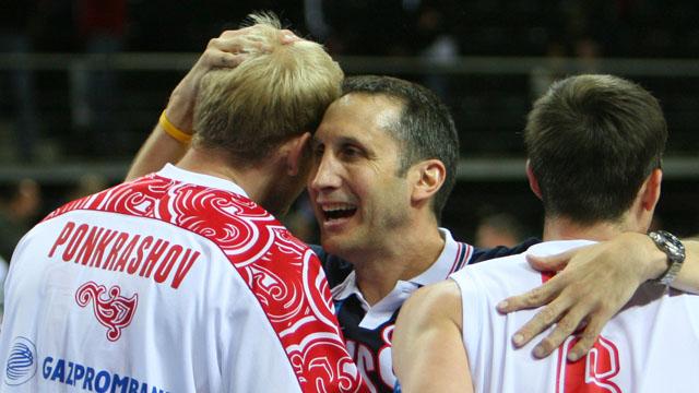 David Blatt, players, Russia, Israel, head coach, coach