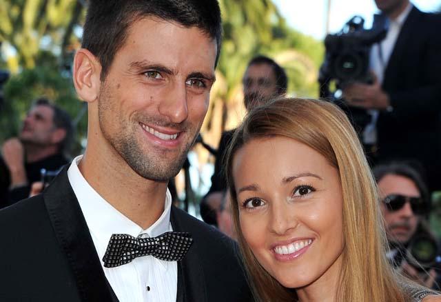Djokovic girlfriend,  Djokovic wedding