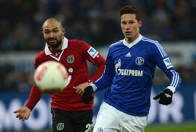 Julian Draxler Schalke, Sofian Chahed