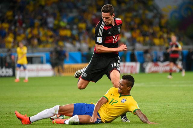 Julian Draxler, Luis Gustavo, World Cup