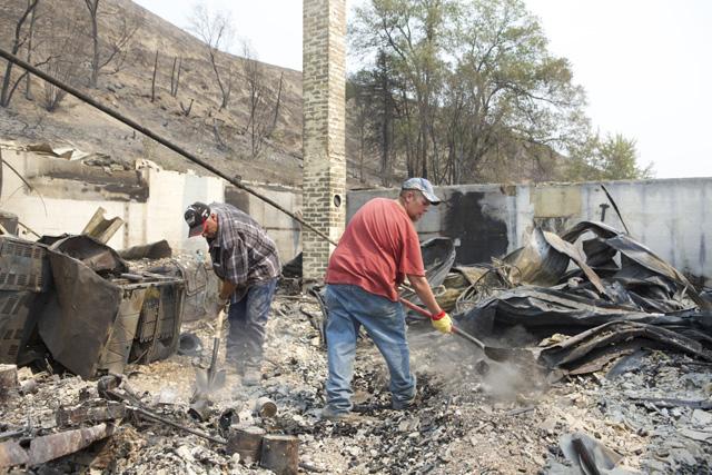 Washington State Wildfire Damage