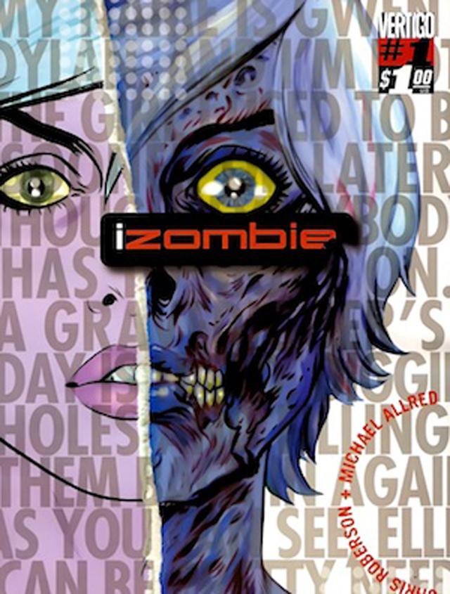 izombie, comic book, dc comics, vertigo,