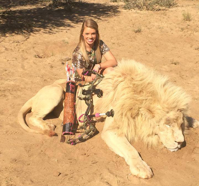 Kendall Jones Texas Hunter, Facebook photos dead African animals