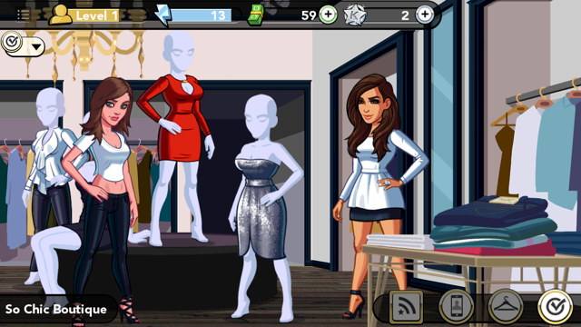 Kim Kardashian Hollywoo Game So Chic