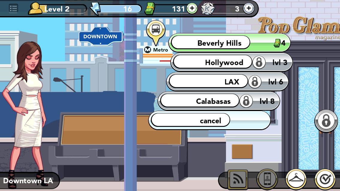 Kim Kardashian Hollywood Game Beverly Hills