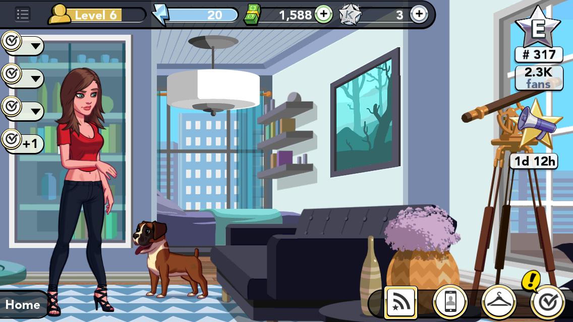 Kim Kardashian Hollywood Game Furnish Homes