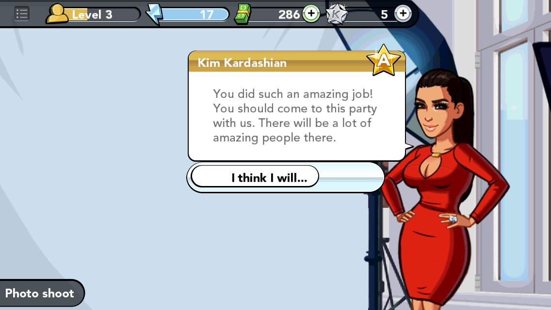 kim kardashian hollywood game party