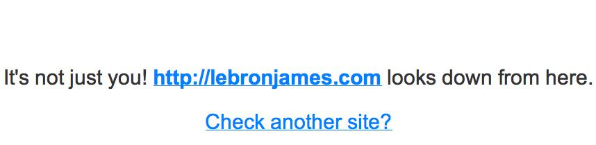 lebron james, lebron james cavs, lebron james website, is lebron james website down, lebron james announcement, lebron james web, lebronjames.com