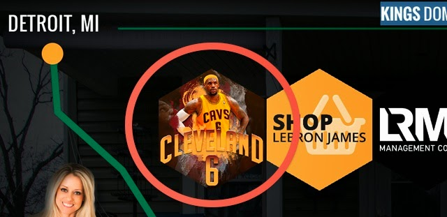 LeBron James website, LeBron James Cleveland