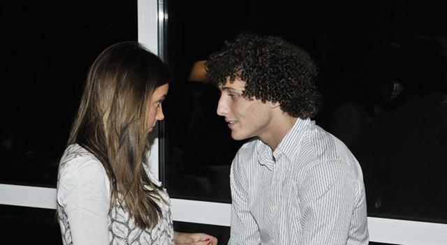 David Luiz and Sara Madeira, David Luiz Girlfriend