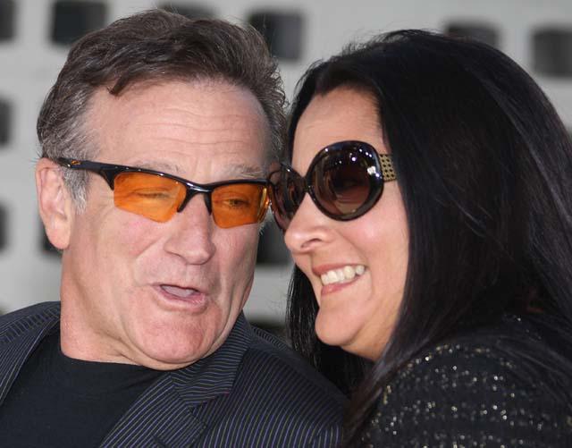 robin williams ex wife, robin williams divorce