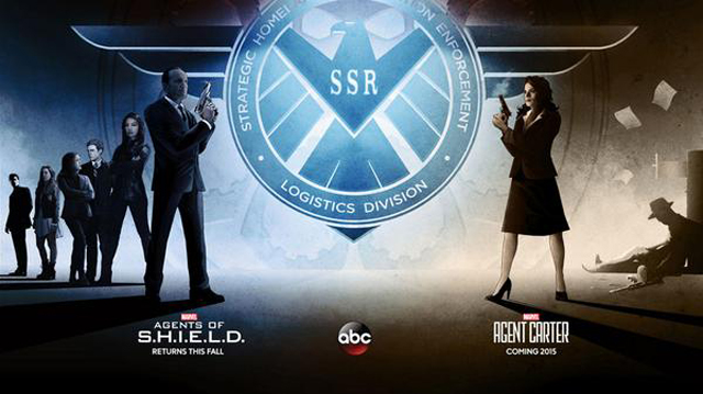marvel tv, agents of shield, agent carter, sdcc, abc