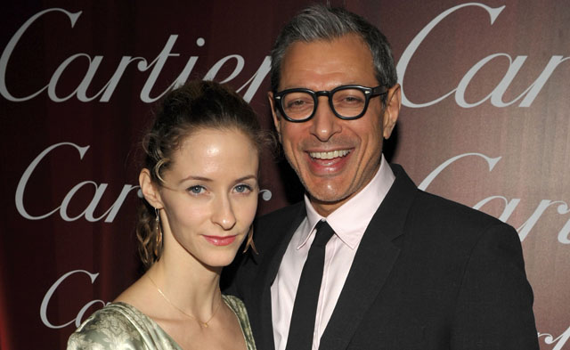 jeff goldblum and fiance, jeff goldblum emile livingston