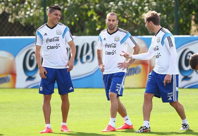 Enzo Perez Alejandro Sabella World Cup Argentina