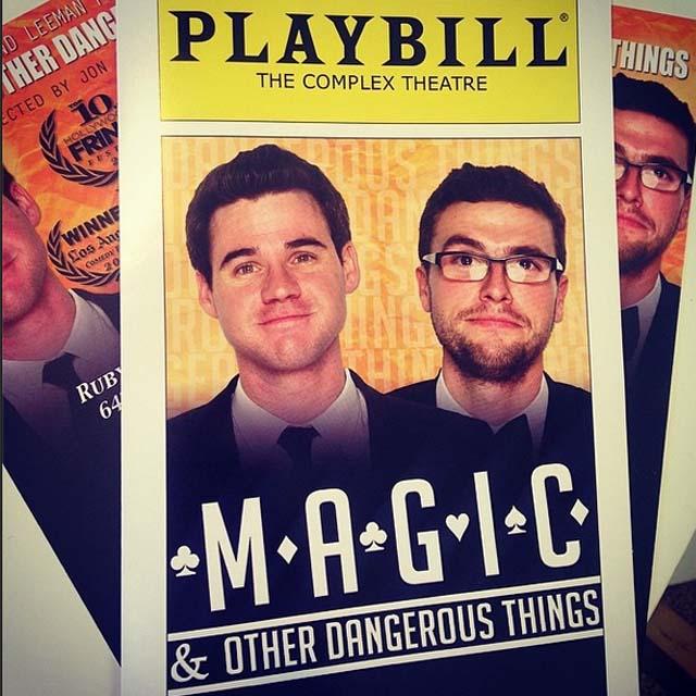 david and leeman magic act, david and leeman amgic