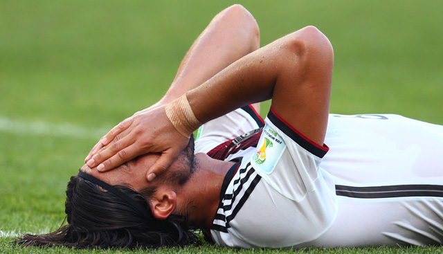 Sami Khedira Injury