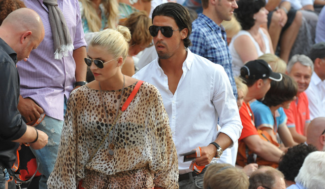 Sami Khedira Girlfriend, Lena Gerke, Sami Khedira and Lena Gerke