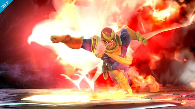 Super Smash Bros Captain Falcon