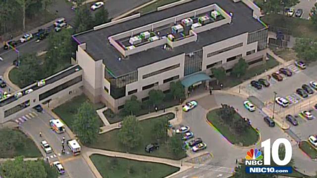 Darby hospital shooting