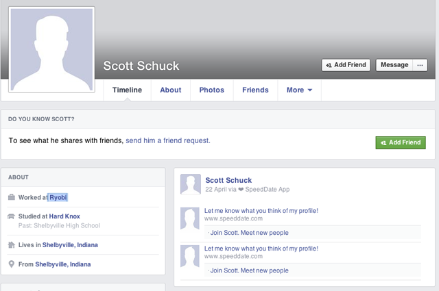 Scott Schuck Facebook