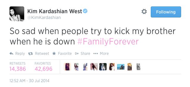 Kim Kardashian Rob Twitter