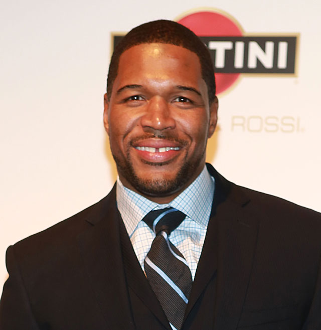 Homeless man arrested threatened kill Michael Strahan, homeless man threatens michael strahan knife