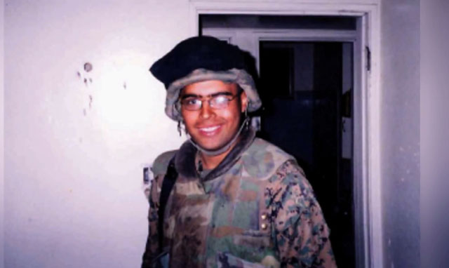 Sal Gonzalez war, Sal Gonzalez Wounded Warriors