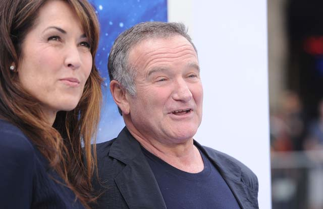 Who was Robin Williams married to