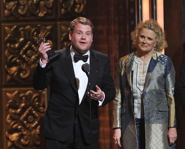 James Corden Tony Award