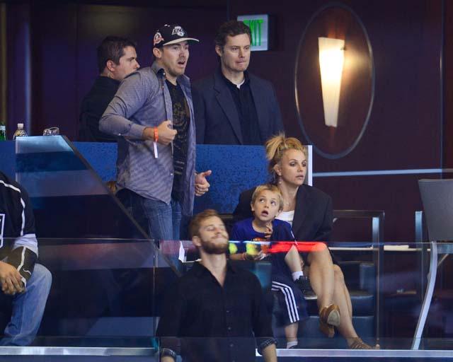 David Lucado Britney Spears kids