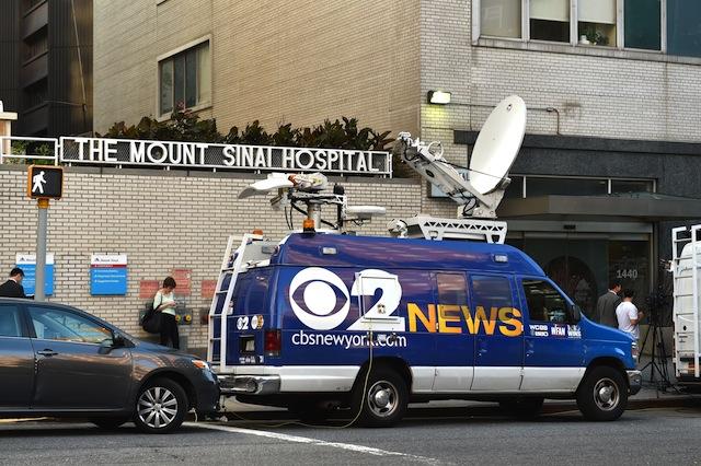 Mount Sinai ebola scare