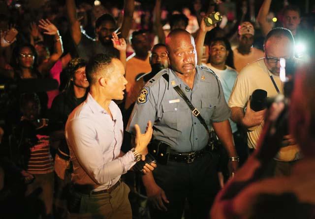 Ronald Johnson Protests