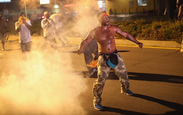 ferguson protests, michael brown shooting, ferguson photos