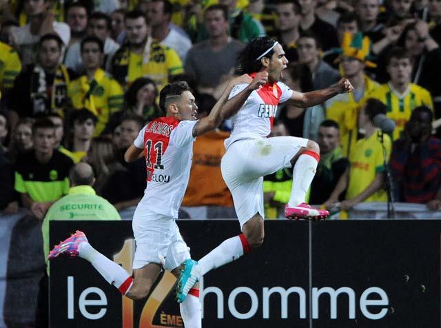 Falcao Monaco Goals