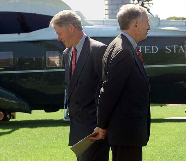 Jim Jeffords Bill Clinton