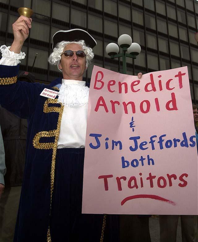 James Jeffords Traitor