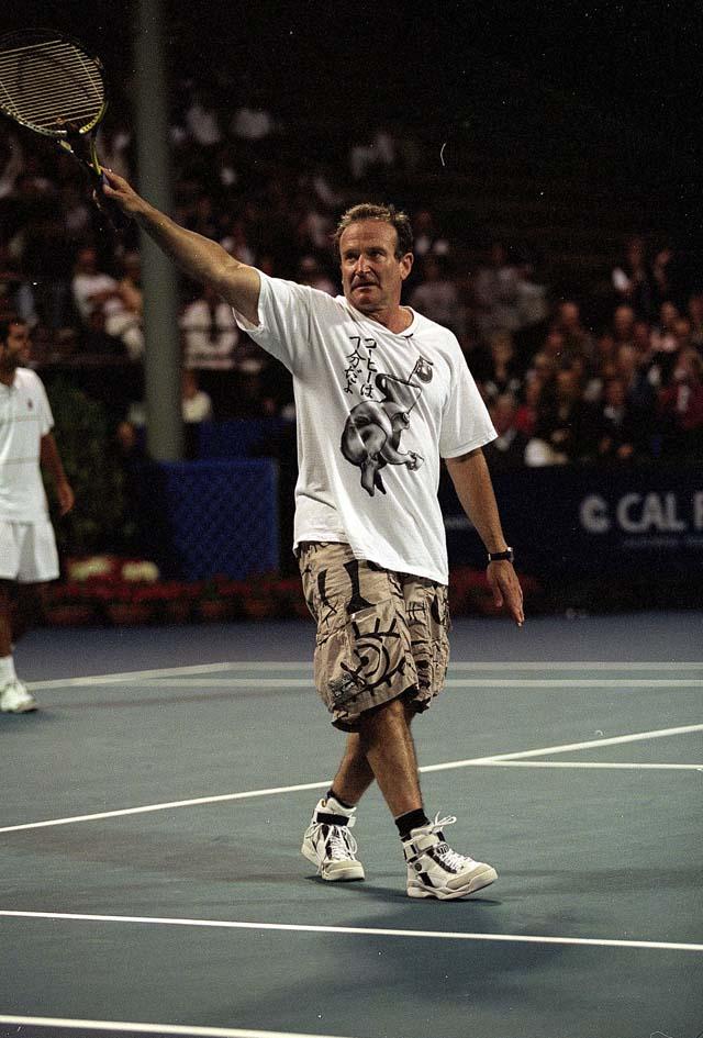 Robin Williams Dead Tennis