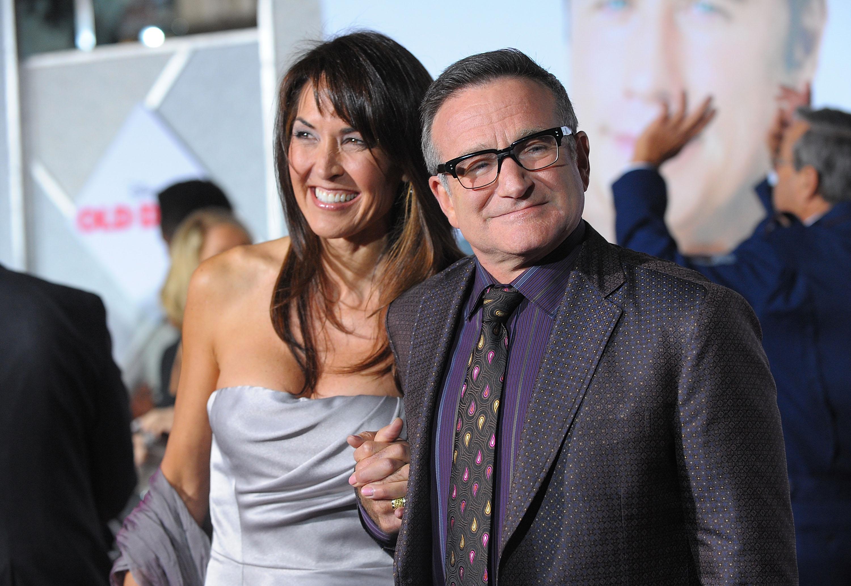 Robin Williams Wife