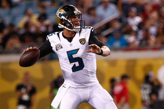 Blake Bortles, Jaguars vs. Bears, Jaguars vs. Buccaneers