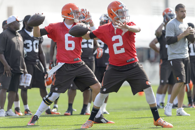 Johnny Manziel, Brian Hoyer, Cleveland Browns, Browns vs. Redskins