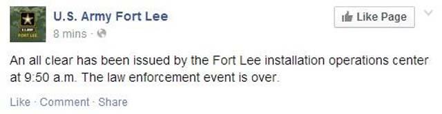 Fort Lee Army Facebook