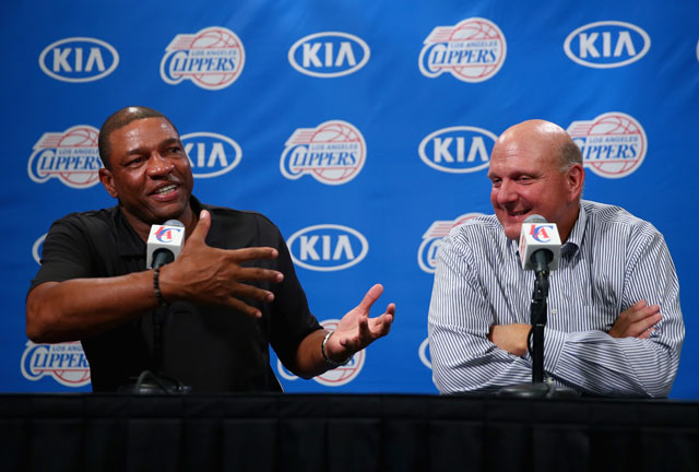Steve Ballmer, Doc Rivers, Clippers