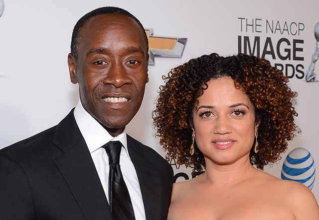 Los Angeles, USA. 14th Jan, 2019. Bridgid Coulter with ... |Don Cheadle Family 2014